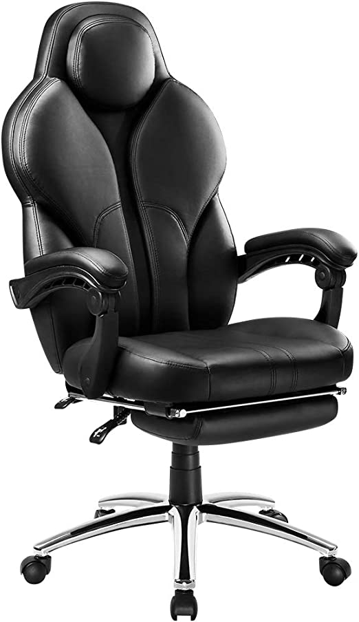 Executive Office Chair Racing Gaming Swivel Leather Computer Desk Chair Sports