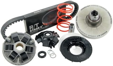 Oversize Cvt Belt Pulley Converter Kit Stage6 R T Including Variomatik V Belt For Piaggio Short Auto