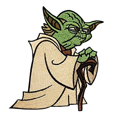 Application Star Wars Clone Wars Yoda Patch