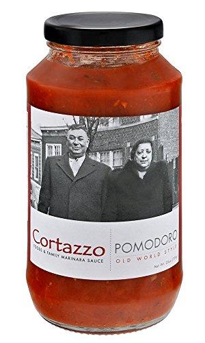 Cortazzo Foods, Pasta Sauce Pomodoro, 25 Ounce