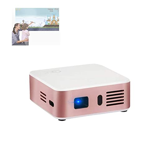 GJZhuan Proyector E05 Proyector Portátil Inteligente 1080p ...