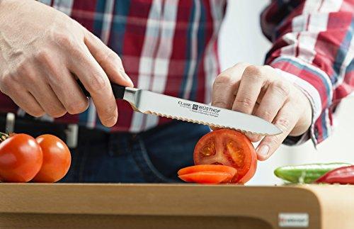 Wusthof Classic 4110 Serrated Utility Knife (Sausage knife) 14 cm 5'' by Wüsthof (Image #2)