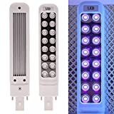 ZHUOTOP 9W LED Nail Art Lamp UV 16 LED Tube Light Bulb for Nail Art Polish Curing Dryer with Box