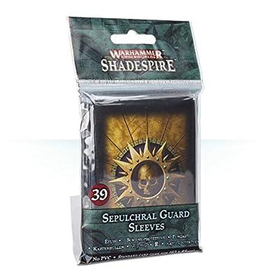 Warhammer Underworlds: Shadespire – Sepulchral Guard Sleeves by Games Workshop