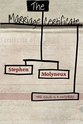 The Marriage Certificate: Stephen Molyneux: 9780957605909: Amazon