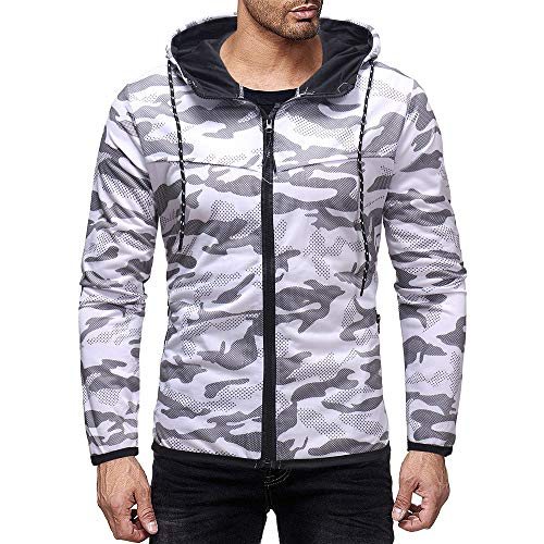 - GDJGTA Mens Vest T-Shirt Summer Casual Camouflage Print Hooded Sleeveless T-Shirt Top Vest Blouse