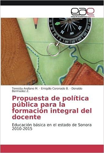 Propuesta de política pública para la formación integral del ...