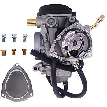 Amazon.com: Caltric Carburetor for Yamaha Big Bear 400 2X4
