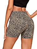 SheIn Women's Solid Skinny High Waist Workout Yoga