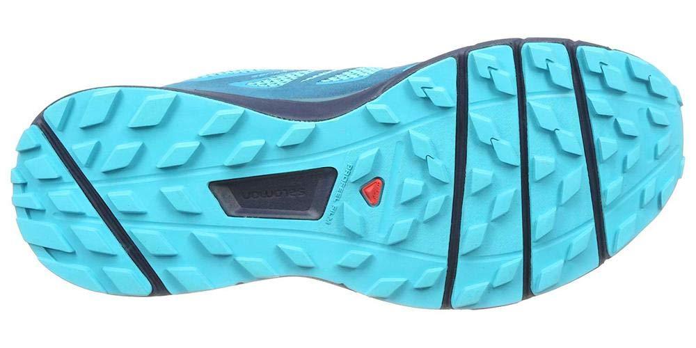 Salomon Sense Ride Running Shoe - Women's Blue Bird/Deep Lagoon/Navy Blazer 7 by Salomon (Image #10)