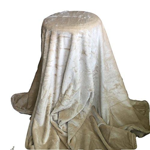 amazon com personalized blanket 5 x6 solid beige custom