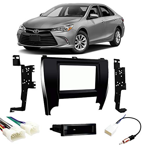 Toyota Camry 2015-2017 Single or Double DIN Stereo Radio Install Dash Kit New