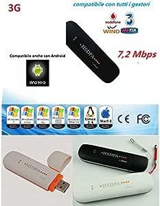 Memoria Internet Key 3 G módem USB Antena universal para ...