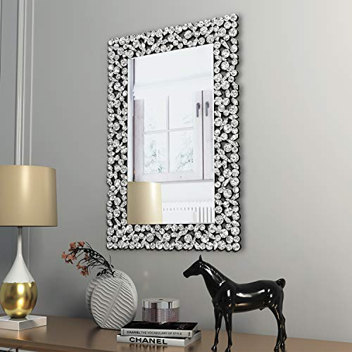 Buy Kohros Large Antique Wall Mirror Ornate Glass Framed Venetian Decor Mirror Bedroom Bathroom Living Room W 23 6 X H 35 4 Online At Low Prices In India Amazon In
