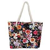Carmern Flower Women Shopping Bags Rope Handle(46) cm