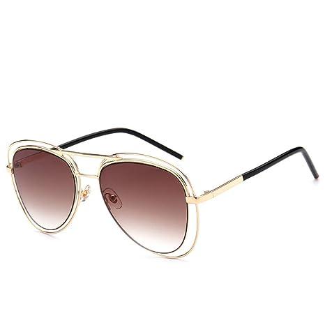 Yangjing-hl Gafas de Sol Tendencia Gafas Mujer Moda ...