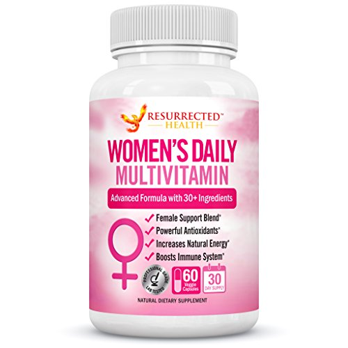 Plus Multivitamin 55 Active - Multivitamin for Women with Biotin + Folic Acid + B12 + Calcium + Magnesium - Women's Daily Vitamins & Multi-Mineral Complex - Packed Full of Antioxidants & Energy Boosting Fruit