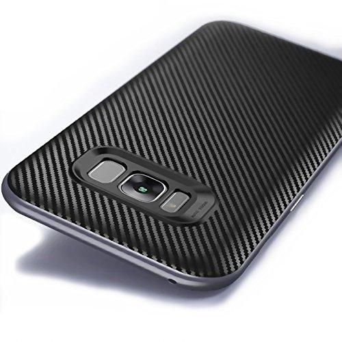 Galaxy Samsung Carbon Silver Bumper