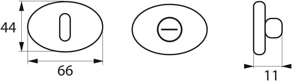 Cylindre de serrure /à bouton CHANTIER 45 x 50 mm SERRUPRO