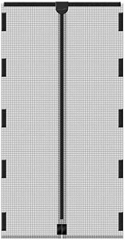 Fliegengitter Magnetvorhang f/ür T/üren CHENG Magnetischer T/ürvorhang 75x185cm Insektenschutz f/ür Flure//T/üren Wei/ß Insektenschutz T/ür mit Klettband