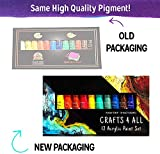 Crafts 4 All Acrylic Paint Set - 12 -Pack Painting