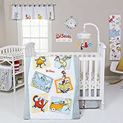 Dr. Seuss Friends 6-Piece Complete Nursery Crib Bedding Set by Trend Lab