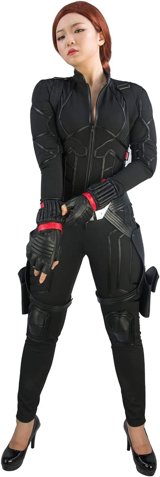 Wellgift Disfraz de Viuda Negra, Disfraz de Escarlata para Cosplay ...
