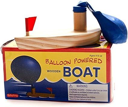 Elegante Juguete de baño para bebé, con Globo, de Madera, para Barco en bañera, Juguetes para niños, Navidad para niños