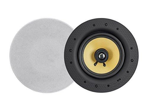 Monoprice Caliber - Altavoces de Techo (2 Vías, 60 W, 6,5 Pulgadas, con Bluetooth)