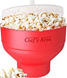 mini 1 can coke fridge - Silicone Microwave Popcorn Popper / Popcorn Maker, Red Collapsible Popcorn Bowl with lid for home - BPA free - for Healthy Homemade Butter & Oil-Free Recipes - by Chef's Area
