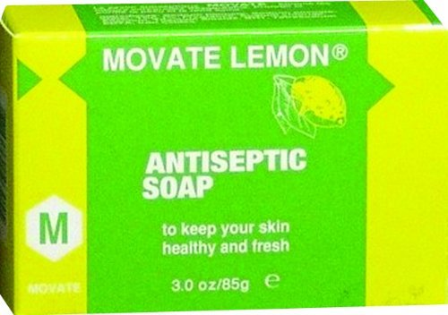 Movate Lemon Antiseptic Soap M by (Movate Carrot)