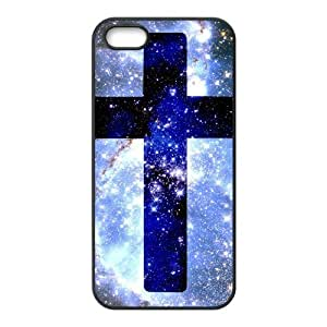 Cross DIY Cover Case with Hard Shell Protection for Iphone 5,5S Case lxa#382417