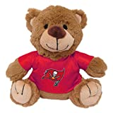 Pets First NFL Tampa Bay Buccaneers Plush Teddy Bear Pet Toy