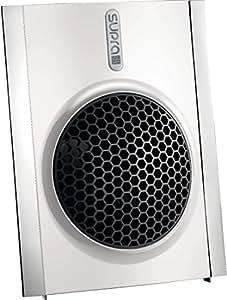 Supra Classeo 20-2 - Calefactor para baño, aire caliente y frío, 1000 W / 2000 W, 26,5 x 33 x 16 cm, color blanco