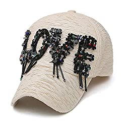 Embellished with Crystal Baseball Cap