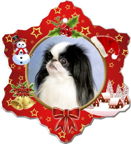 Japanese Chin Porcelain Holiday Ornament