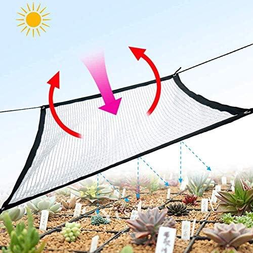 農業用 遮光ネット寒冷紗日焼け止めネット多肉植物アルミホイル遮光ネット85%遮光率 陰の網植物や花、温室、中庭、カーポート、犬小屋に適してい遮熱ネット(Color:Silver,Size: 2 x 5m)