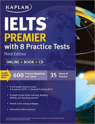 Download PDF IELTS Premier with 8 Practice Tests - Online + Book