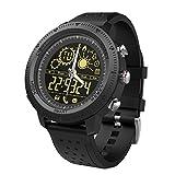 Awakingdemi Outdoor Smart Watch Bluetooth IP67 5ATM Waterproof Message Reminder(Black)