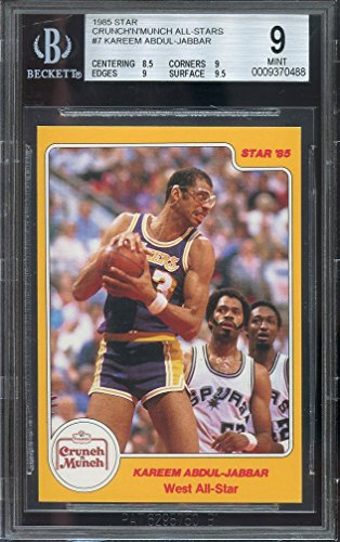 1985-star-crunch-n-munch-all-stars-7-kareem-abdul-jabbar-bgs-9-85-9-9-95-graded-card