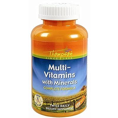 Thompson Multiples Multi Vitamin/Mineral 120 tablets (a)