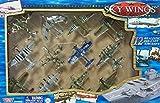 Motor Max SKY WINGS 12 realistic die cast Airplanes Gift Set