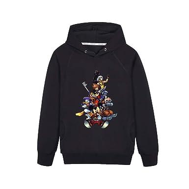 Kingdom Hearts Padre-Hijo Abrigo con Capucha Sudaderas Hoodie Tendencia Caída Invierno Coat Outwear Sudaderas con Capucha: Amazon.es: Ropa y accesorios
