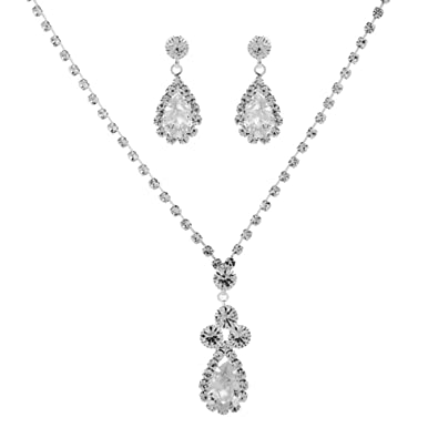 Buy Kalaixing Pearl Necklace Bride Diamond Jewelry Sets Necklace