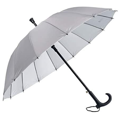 EGCLJ Paraguas para Caminar Multifuncional - Andador ...