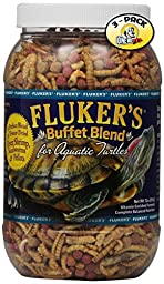 Fluker\'s Buffet Blend Aquatic Turtle Formula for Pets, 7.5-Ounce (Pack of 3)