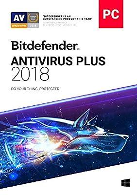 Bitdefender Antivirus Plus 2018 | 3 PC, 2 Year New in Retail Box
