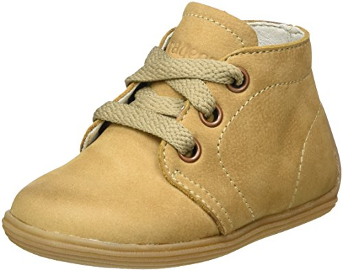 Braqeez Unisex-Kinder Sunny Star Hohe Sneaker Braun (Caramel)