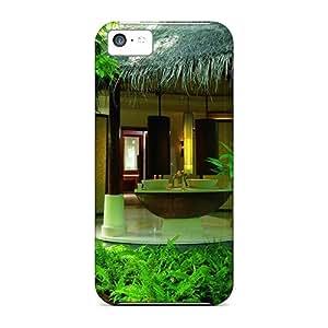 New Tpu Hard Case Premium Iphone 5c Skin Case Cover(dream Summer Beautiful Place)