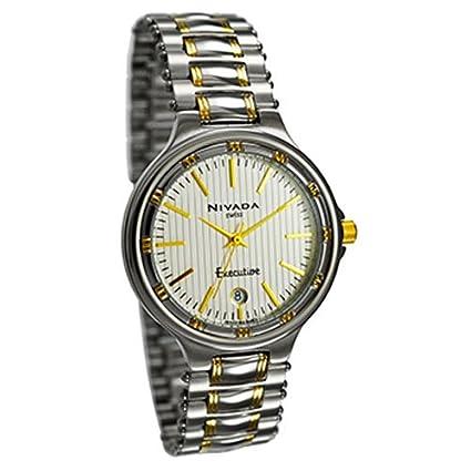 11e30fbaf076 Nivada NG4453GBICBI Reloj Formal para Hombre  Amazon.com.mx  Relojes